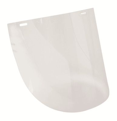 Protector GENERAL PURPOSE FRAMELESS VISOR 200x385mm 1mm Thick, High Impact CLEAR