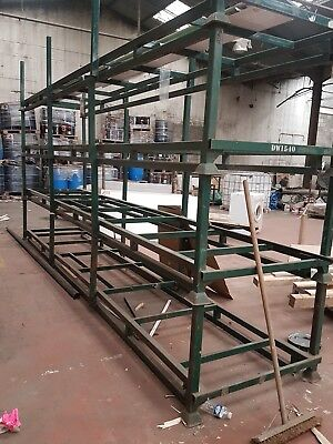 Extra long steel stillages x4