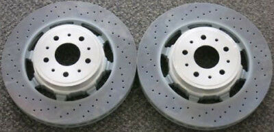 Maserati granturismo sport & mc rear brake rotors set