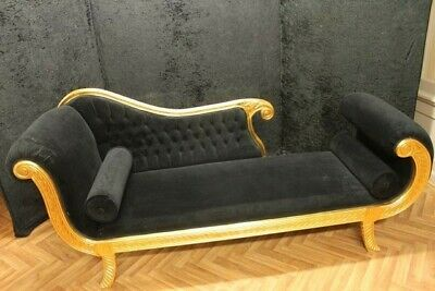 Barock Chaiselongue Recamiere AlSo0318Sw