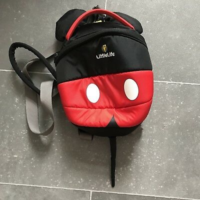 721c206614e LITTLE LIFE MICKEY Mouse Disney toddler backpack with reins! BNWT ...