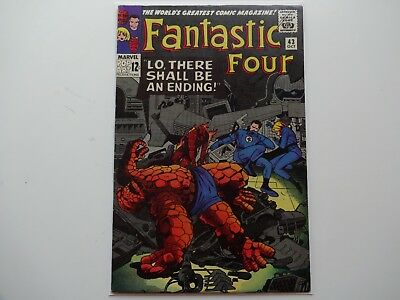 Fantastic Four # 43........... Silver Age, Marvel Comics, US price variant......