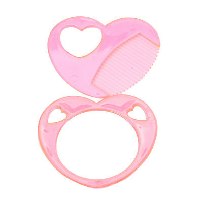 2pcs Hair Comb Mirror Set for 18inch American Girl Doll Kids Toys Accessory