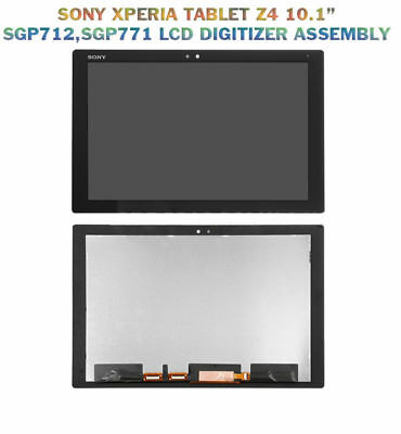 """For 10.1"""" Sony Xperia Tablet Z4 SGP771 SGP712 LCD Display +Touch Digitizer"""