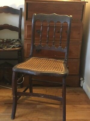 Early american antique chairs - pair