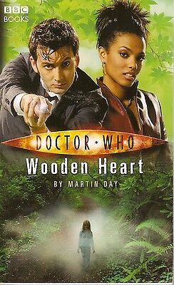 + DOCTOR WHO Paperback Wooden Heart (David Tennant as Doctor) engl.