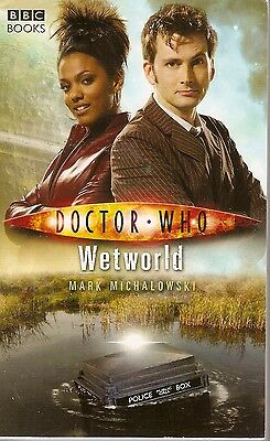 + DOCTOR WHO Paperback Wetworld (David Tennant as Doctor) engl.