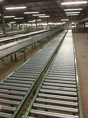 "36"" Gravity Roller Conveyor-Sold By the Foot in 10 Foot Sections"