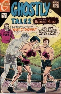 Ghostly Tales 65 + Free Foil Balloon Charlton Comic 12 Cents