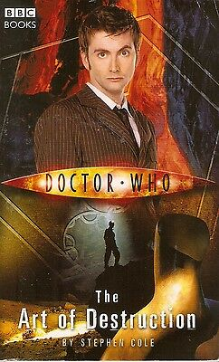 + DOCTOR WHO Paperback The Art of Destruction (David Tennant as Doctor) engl.