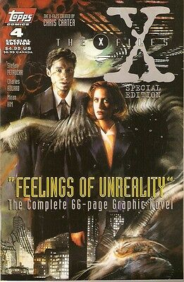 X-Files Akte X Comic USA Topps Special Edition 4