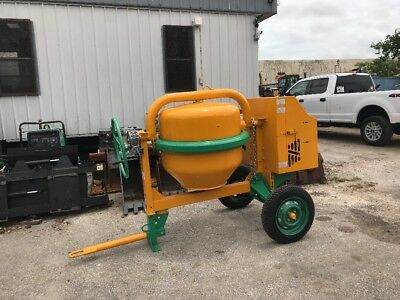 NEW Steel diesel concrete mixer 13 CUBIC FEET (2-3 BAGGER)