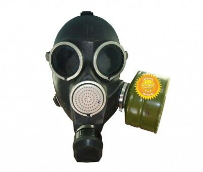 Size-1. Small USSR Soviet Russian Military Gas mask GP - 7 New + 40 mm Filter