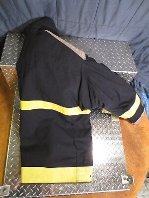 EXPRESS FIREFIGHTER TURNOUT COAT Size XL BLACK