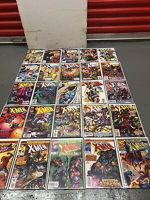 Uncanny X-men 276 - 350  Maggot Joseph Generation X Bishop Wolverine