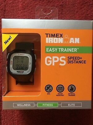 **brand New Timex Ironman Gps Easy Trainer Watch