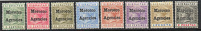 MOROCCO AGENCIES 1898-1906 mh/mnh SG1-30  (4 set)