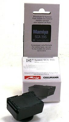 Metz SCA 395 flash adapter for Mamiya RZ67 Pro II, boxed MINT