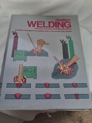 1992 MODERN WELDING book  hardback 736pages