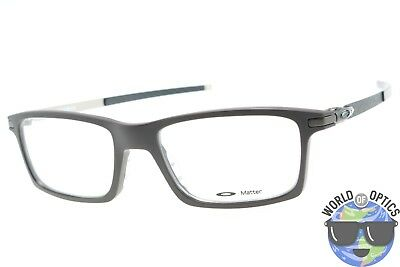 28ad35d15f Oakley RX Eyeglasses OX8050-0453 Pitchman Satin Brownstone Frame  53-18-140