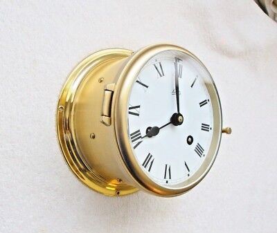 Ship Clock Schatz , mariner ,complete service by clockmaker (by me )