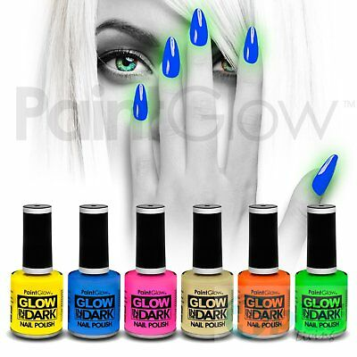 Paintglow Glow in the Dark Nail Polish 10ml