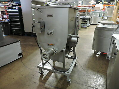 Hobart 4346 Tandem Commercial Meat Mixer / Grinder / Chopper, 7.5 HP