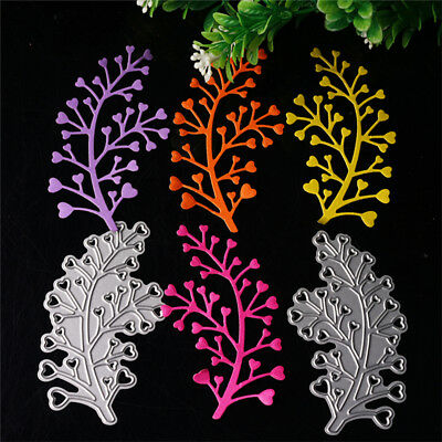 Leaves Cutting Die Stencil Scrapbooking Album Paper Card Embossing Craft s