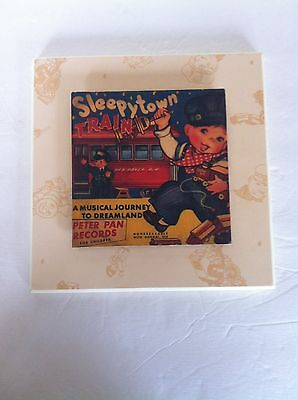 Peter Pan Nursery Vintage Wall Decor Records Album Cover Art Sleepy Town Baby