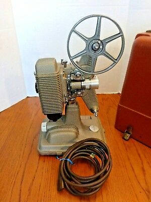 Vintage Revere 8mm  Movie Projector with Case Model 85 ~ EXCELLENT CONDITION