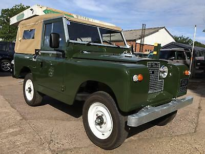 1963 Land Rover Series 2a SWB 2.25 petrol Soft Top restored