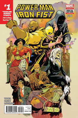 Power Man and Iron Fist #10 NOW #1 Marvel 2016
