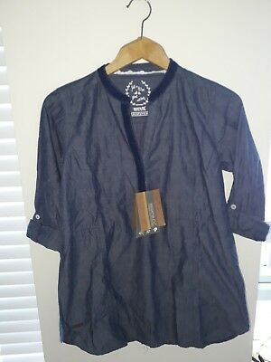 Regatta size 8 100% Cotton tunic top with coolweave technology. Denim style