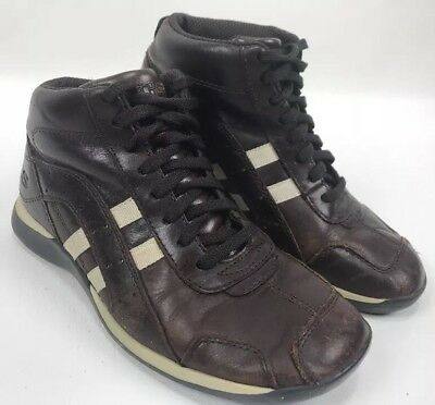 179a528f189 SKECHERS SOMETHIN ELSE Brown High Top Fashion Sneakers Shoes Womens Size 6.5