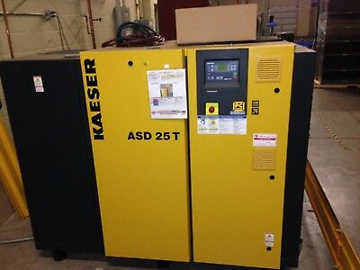 KAESER ASD 25T ROTARY SCREW AIR COMPRESSOR with Dryer