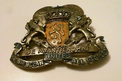 40's DUTCH AIRLINES KLM ARMS of NETHERLANDS CONSTELLATION FLYING DUTCHMAN BADGE