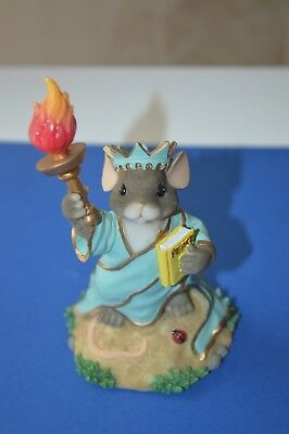 """Charming Tails """"LADY LIBERTY""""  By FITZ AND FLOYD"""