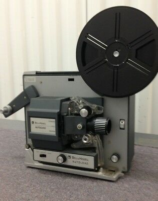 Vintage Bell & Howell Model #357 Autoload Super 8 Movie Projector
