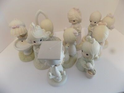 Precious Moments Figurines  (1980--1993)  Lot of 9