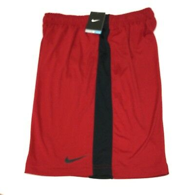 Nike 519501 Mens Dri Fit Fly 2.0 Athletic Running Training Shorts Red, Large