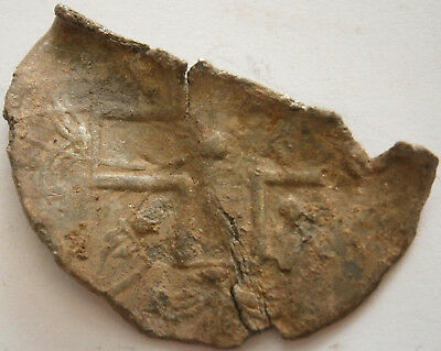 Unknown fragment With a cross Pattern 17-18th Metal