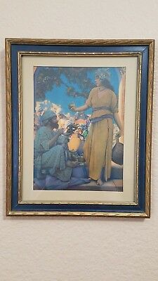 "1923 Maxfield Parrish ""lampseller Of Bagdad"""
