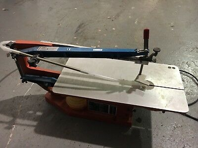Hegner Multicut-2S Scroll Saw / Fret Saw With Blades Working