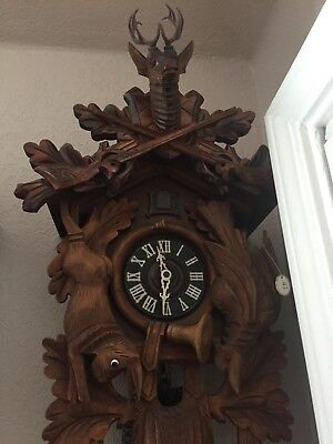 Cuckoo Clock Large 8 Day Great working Condition