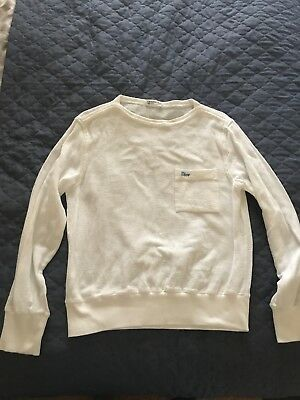 Christian Dior White Sweater Small