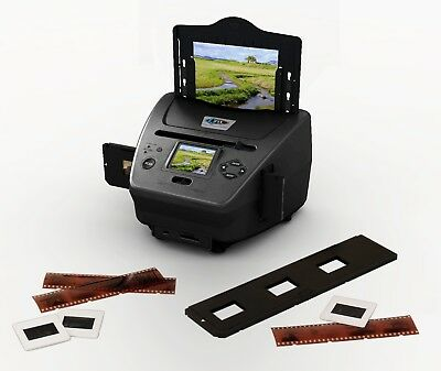 4 in 1 FILM SCANNER FOR PHOTOS SLIDES NEGATIVES AND NAME CARDS