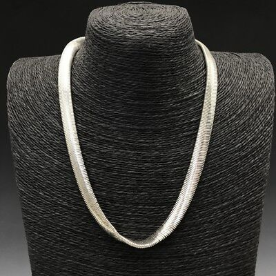 Collect China Make exquisite Tibet silver Necklace.  q963
