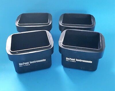 DuPont Instruments Centrifuge Rotor Swing Buckets PN11053 Qty of 4