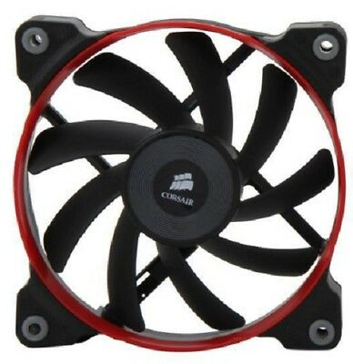 CORSAIR AF120 QUIET Edition CO-9050002-WW 120mm High Airflow (red ring) -  SINGLE