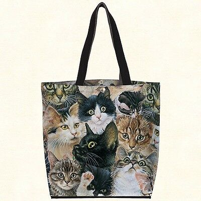 Fiddlers Elbow (Multi) Cat Tote - A Must For Cat Lovers - NWT